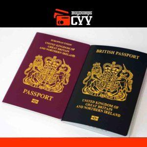 PHYSICAL EUROPEAN PASSPORT.