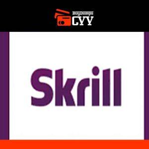 Skrill VERIFIED account + Mastercard and PIN.